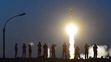 Drei neue Astronauten: ISS erreicht Maximalbesetzung