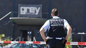 Die Polizei Konstanz war im Großeinsatz.