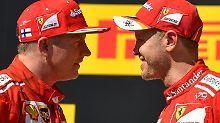 """Der Sport-Tag: F1-Pressestimmen: """"Kimi muss Vettels Diener spielen"""""""