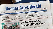 """Aus nach 141 Jahren: """"Buenos Aires Herald"""" wird eingestellt"""