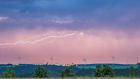 Gefahr von Tornados: Unwetter verlagern sich nachts in den Osten