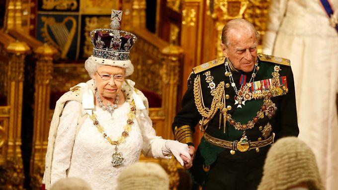 Offizielle Termine muss die Queen künftig ohne Prinz Philip an ihrer Seite bestreiten.