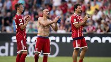 Erst Beifall, dann Pfeifkonzert: FC Bayern wird beim Heimturnier Letzter