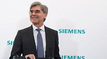 Konzernergebnis enttäuscht: Kaeser bleibt bis 2021 an Siemens-Spitze