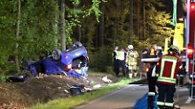 Unfall in Bayern: Feuerwehrmann entdeckt sterbende Tochter