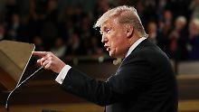 Schuld an Eiszeit zu Russland: Trump haut verbal auf US-Kongress ein