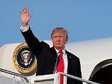Golfen im eigenen Club: Trump fährt in den Sommerurlaub