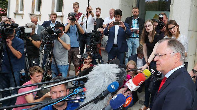 Ministerpräsident Weil hätte sich regulär im Januar einer Landtagswahl stellen müssen.