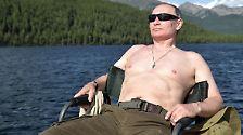 Wladimir geht angeln: Putin macht Kurzurlaub - oben ohne