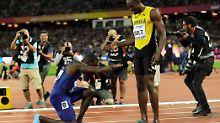 """""""Es ist Zeit zu gehen"""": Bolt zwingt """"Teufel"""" Gatlin in die Knie"""
