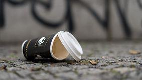 Coffee-to-go-Becher vermüllen Umwelt: Pfandsystem will Kaffeeliebhabern Alternative bieten