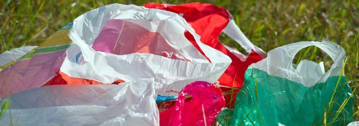 Refinanzierung oder Umweltschutz?: Wohin das Geld für Plastiktüten fließt