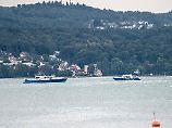 Zwei Insassen offenbar tot: Kleinflugzeug stürzt in Bodensee