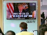 """""""Feuer, Wut und pure Macht"""": Trump treibt Eskalation mit Nordkorea voran"""