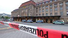Messerattacke in Leipzig: Mann sticht Frau mit Küchenmesser nieder