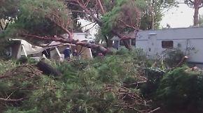 Panik an der Adriaküste: Heftiges Unwetter verwüstet Campingplatz nahe Venedig