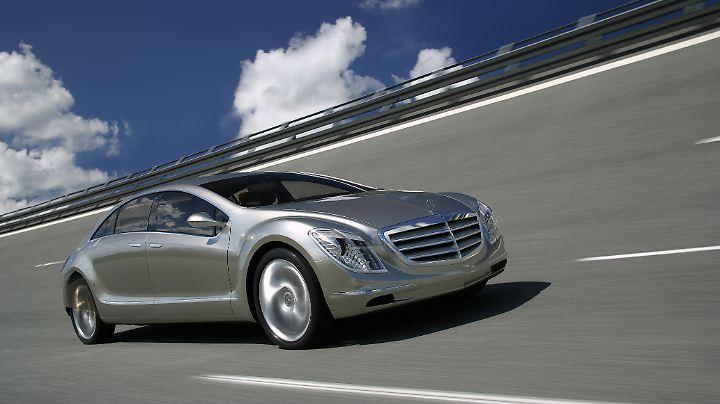 Die Mercedes-Studie F 700 fuhr bereits 2007 mit einem Diesottomotor.