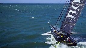 Extremsegler Alex Thomson: Brite bezwingt die Naturgewalt der Weltmeere