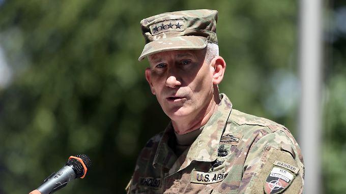 US-General John Nicholson will den IS bis Jahresende aus Afghanistan vertrieben haben.