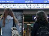 Zwischen Rastatt und Baden-Baden: Bahnstrecke im Südwesten bleibt gesperrt