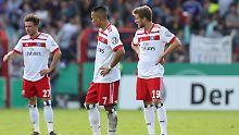 """""""Das ist ein Scheiß-Gefühl"""": Hamburger SV blamiert sich in Osnabrück"""