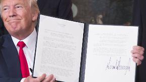 Auffälliger Zeitpunkt: Trump lässt Chinas Handelspraktiken untersuchen