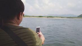Bootsfahrt auf dem Grenzfluss: Chinesische Touristen wollen Blick auf Nordkorea erhaschen