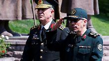 Gegensätzliche Positionen: Iranischer Armeechef besucht Türkei