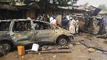 Terror in Nigeria: Dutzende Tote bei Selbstmordanschlägen
