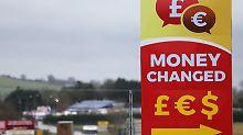 """Zwischen Nordirland und Irland: May will keine """"physische"""" Grenze"""