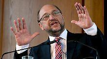 Martin Schulz plant als Bundeskanzler die Abschaffung der Pkw-Maut.