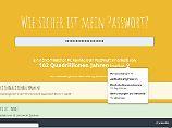 Nonsens-Satz statt Krypto-Kombi: Leichte und sichere Passwörter - so geht's