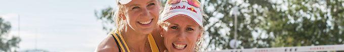 Der Sport-Tag: 14:53 Beachvolleyballerinnen rücken nach - und siegen