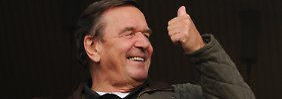 Schröder und die SPD: Der Wahlkampfhelfer