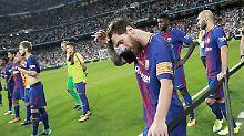 """Supercup-Blamage und Messi-Eklat: """"Barça depresivo"""" stolpert in die Krise"""
