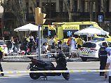 """Reaktionen auf den Anschlag: """"Heute stehen wir alle mit Barcelona"""""""