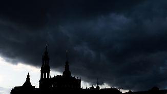 Wetter wie im Gewächshaus: Gewitter bringen Abkühlung von Westen