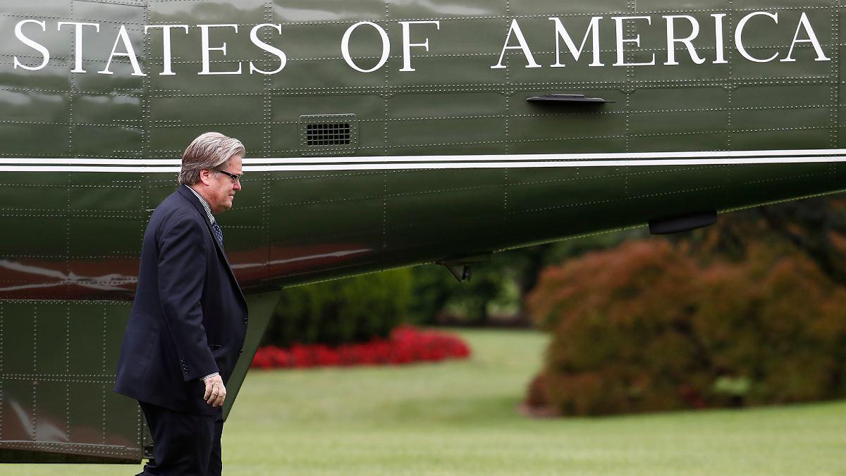 Trump feuert Stephen Bannon