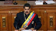 Nicolas Madura stellt die Nationalversammlung kalt.