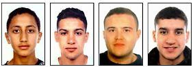 Flüchtig, festgenommen, tot: Das ist die Terrorzelle von Barcelona