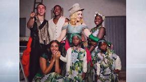 Promi-News des Tages: Madonna zeigt erstmals ihre ganze Familie