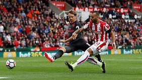 Stokes Neuzugang Jese erzielte das Siegtor gegen Arsenal.