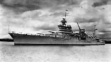 Im Zweiten Weltkrieg gesunken: Forscher finden legendäres US-Kriegswrack