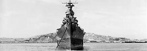 """Die """"USS Indianapolis"""" wird Teil der Task Force 12 und soll japanische Flugzeugträger aufspüren."""