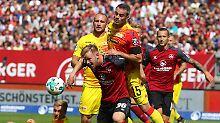 "2. Bundesliga im Überblick: ""Club"" stoppt Union, Regensburg spektakelt"