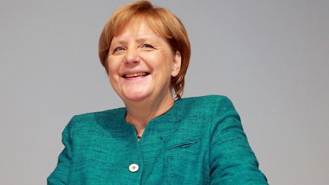 Nach eigener Einschätzung erfahren und neugierig genug für eine vierte Amtszeit: Kanzlerin Angela Merkel.