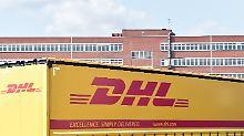 Auf dem ehemaligen Bochumer Firmengelände entsteht eines neues Logistikzentrum der DHL.