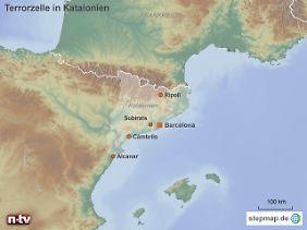 Doppelanschlag in Barcelona und Cambrils: Ein Teil der Terrorverdächtigen stammt aus Ripoll. Die beiden Hauptverdächtigen starben in Subirats und Alcanar.