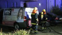 Fahndung nach Täter: Michelle Münteferings Autos angezündet