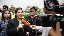 """""""Großer Schritt für die Frauen"""": Indisches Gericht verbietet Blitzscheidungen"""